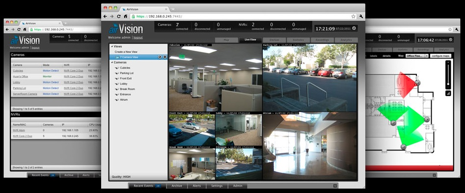 Ubiquiti airvision aircam Unifi Video
