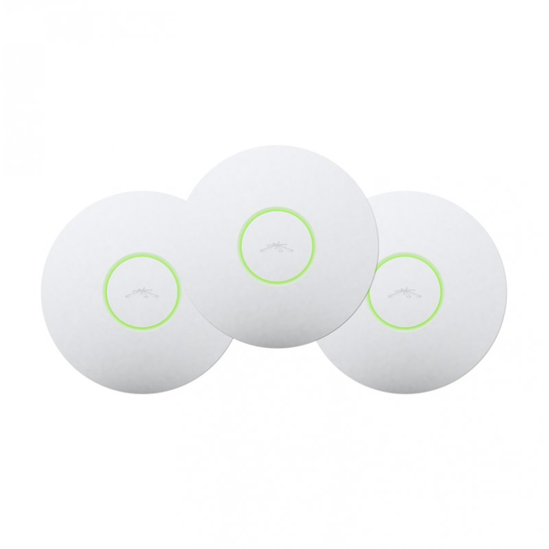 3x Pack Ubiquiti Unifi Uap3 Lr Scalable Enterprise Wlan