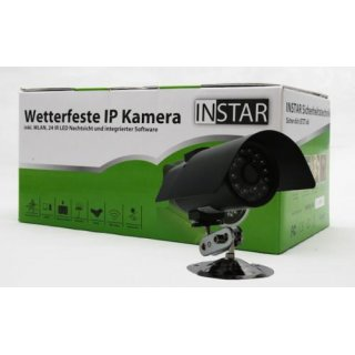 INSTAR IN-2901 IP network camera outdoor (IP65) with nightvision black
