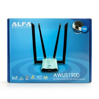 Alfa Network AWUS1900 Highpower USB 3.0 WLAN Adapter 802.11ac 1900MBit