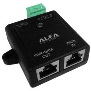 Alfa Network APOE03 passiver und redundanter POE Adapter