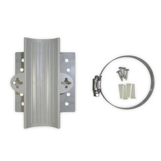 Alfa Network WMK02 Wall Mount KIT for Tube-Serie (also for Mikrotik Groove and Ubiquiti Bullet)