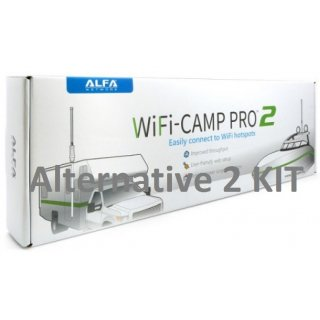Alfa WiFi Camp Pro 2 WLAN Range Extender Kit (Alternative2) + deutsche Bedienungsanleitung!