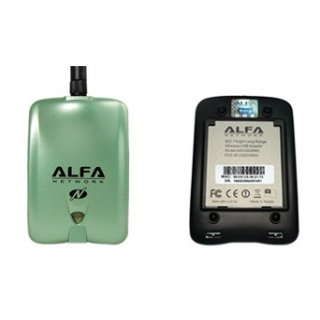 Alfa Network AWUS036NH USB 2.0 Highpower WLAN Adapter und 5dBi Antenne