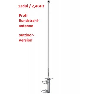 12dBi interline HORIZON maxi WLAN omnidirectional Antenne (Rundstrahlantenne) outdoor 2,4GHz