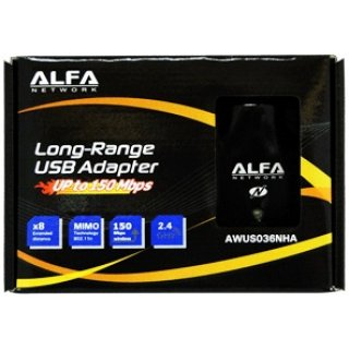 Alfa Network AWUS036NHA USB 2.0 Highpower WLAN Adapter